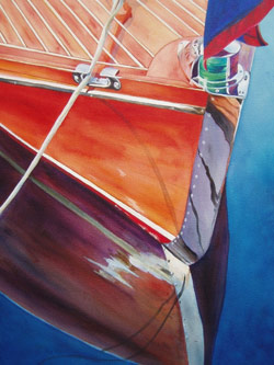 Classic - Classic Boat Paintings by Janne Matter