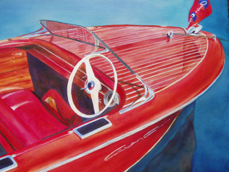 Hot Item - Classic Boat Paintings by Janne Matter