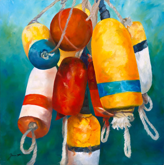 Buoys Will Be Buoys - Maritime Images by Janne Matter