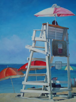 Lifeguard - Maritime Images by Janne Matter