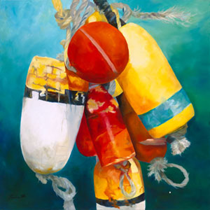 My Buoys - Maritime Images by Janne Matter